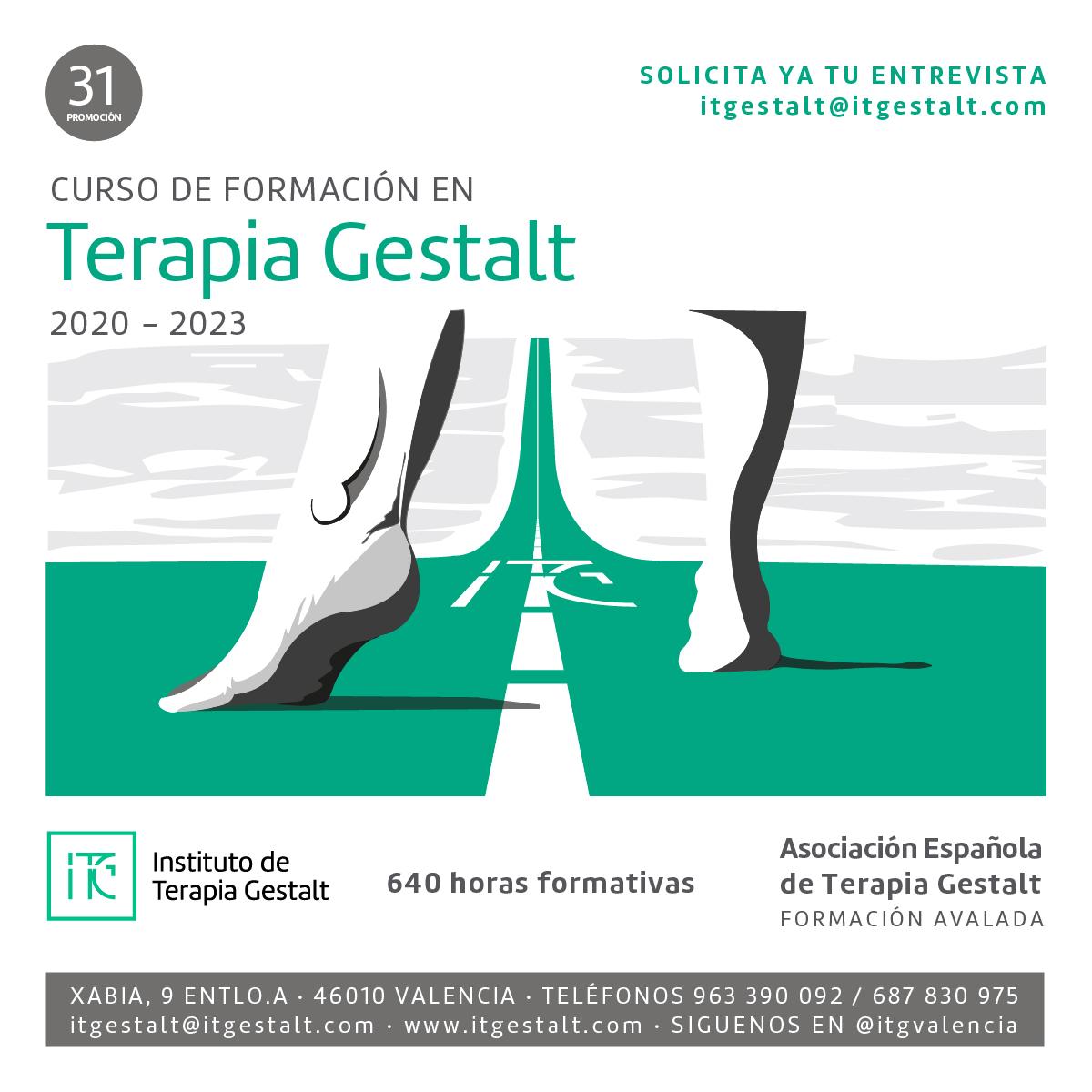 Formación en Terapia Gestalt en el ITG Valencia