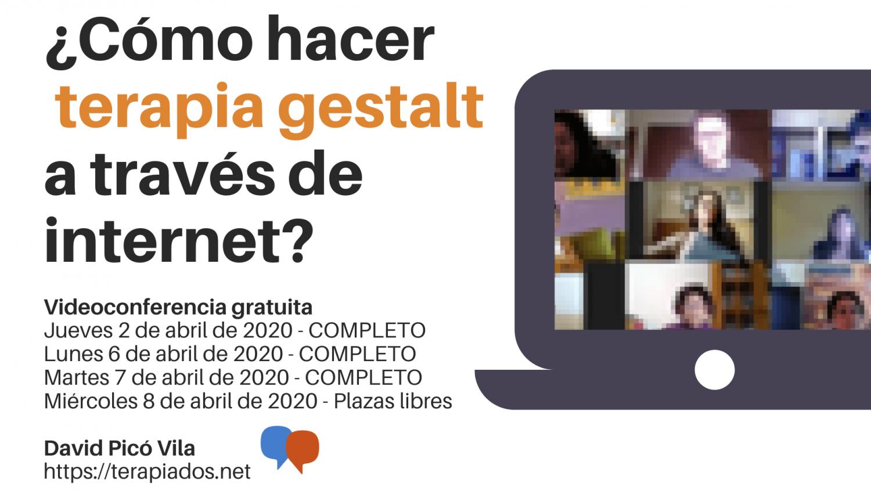Seminario virtual: ¿Cómo hacer terapia gestalt a través de internet?