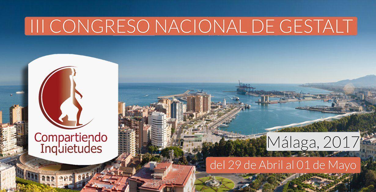 III Congreso Nacional de Terapia Gestalt de la Asociación Española de Terapia Gestalt (AETG)