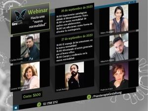 """Webinar: Hacia una """"nueva normalidad"""""""