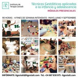 Técnicas Gestálticas aplicadas a la Infancia y adolescencia (Módulos presenciales)