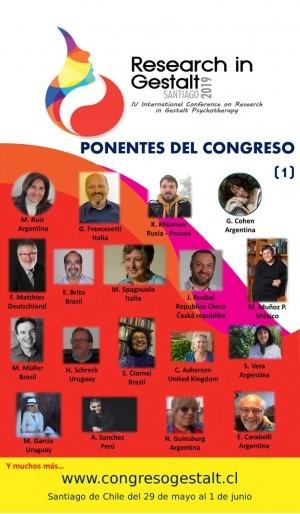 IV Congreso Internacional de Investigación en Psicoterapia Gestalt